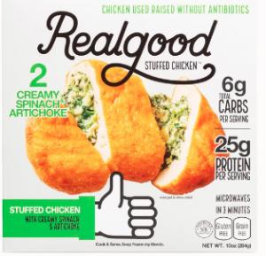 Real Good Foods Stuffed Chicken