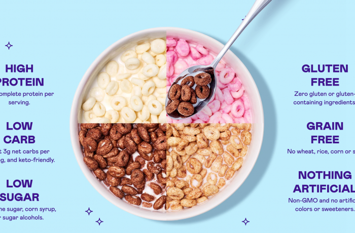 magic spoon is keto diet cereal