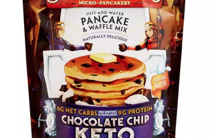 Chocolate Chip Keto Pancakes Eric Schleien