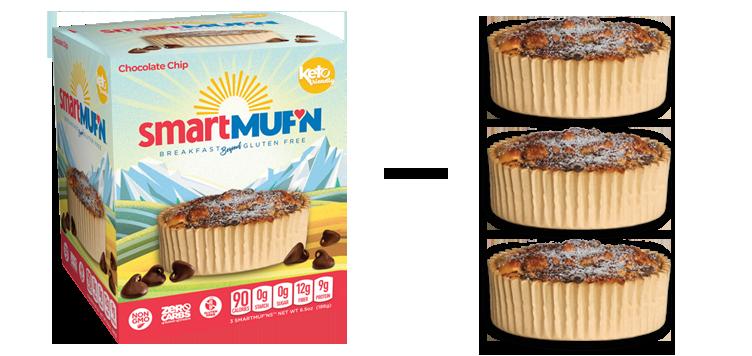 Smart Muffin 3 - Chocolate Chip - Eric Schleien